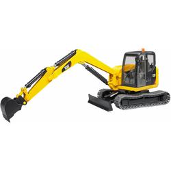 Bruder® Spielzeug-Bagger CAT Minibagger, 1:16, gelb