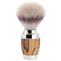 Mühle Rasierpinsel, Silvertip Fibre®, Griff Gestockte Buche