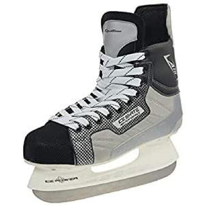 SportTeam Herren Schlittschuhe Eishockey, Schwarz, 42