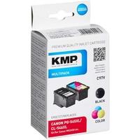 KMP C97V kompatibel zu Canon PG-545XL schwarz + CL-546XL CMY