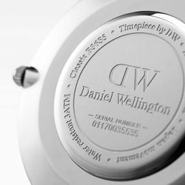 Daniel Wellington Classic Black Sheffield Leder 40 mm DW00100133