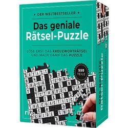 Das geniale Rätsel-Puzzle Puzzle 550 Teile