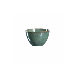 LEONARDO Schale MATERA Keramikschale 15,3 cm grün, Keramik, (1-tlg)