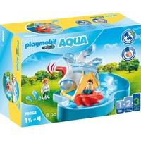 Playmobil 1.2.3 Wasserrad mit Karussell (70268)