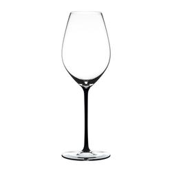 RIEDEL Glas Champagnerglas Fatto A Mano Champagne Black, Kristallglas weiß