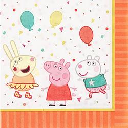 """Papierservietten """"Peppa Pig"""", 33 x 33 cm, 16 Stück"""