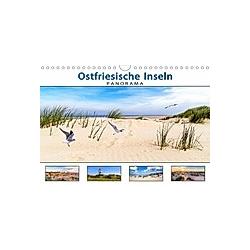 PANORAMA - Ostfriesische Inseln (Wandkalender 2021 DIN A4 quer)