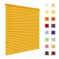Alu-Jalousien, Jalousien, Horizontaljalousien, Farbe gold, auf Mass gefertigt oder in Standardgroessen, weitere 100 Farben verfuegbar