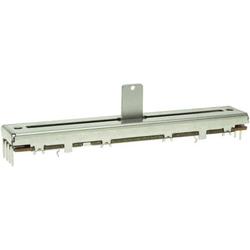 ALPS 401766 Schiebe-Potentiometer 10kΩ Stereo 0.2W logarithmisch 1St.
