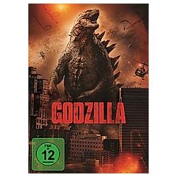 Godzilla (2014) - DVD  Filme