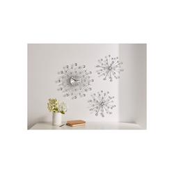 HomeLiving Uhr Kristallblüte