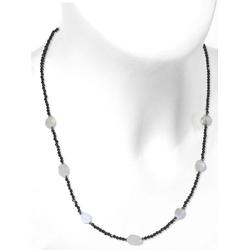 Adelia´s Kette ohne Anhänger Mond Mondstein Halskette 925 Silber