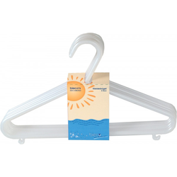 Kinder-Kleiderbügel-Set weiß BIECO