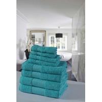 Emotion Handtuch Set Uni (Set, 8-tlg), mit großer Farbauswahl blau