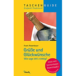 Grüße und Glückwünsche. Frank Rosenbauer  - Buch