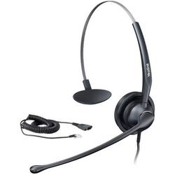 Yealink YHS33 monaurales Headset NC Telefon-Headset QD (Quick Disconnect) schnurgebunden On Ear