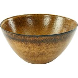 CreaTable Salatschüssel Sahara, Steinzeug, Ø 25 cm