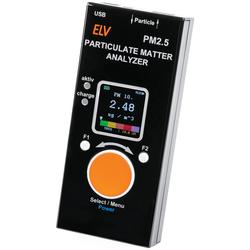 ELV Feinstaub-Messgerät PM2.5, Fertiggerät (verbauter Feinstaubsensor SPS30 ist MCERTS-Zertifiziert)