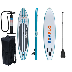 SEAFLO Inflatable SUP-Board Seaflo SUP Board Stand Up Paddle Surf-Board aufblasbar inkl.Paddel ISUP 335cm 11