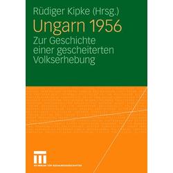 Ungarn 1956 als Buch von