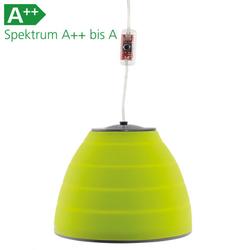 Zeltlampe Orion Lux grün