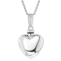 trendor 39746 Urne Anhänger mit Halskette 925 Silber, 42 cm