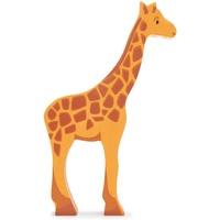 Carletto Tender leaf toys Holztier Giraffe,