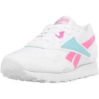 white/solar pink/neon blue 45