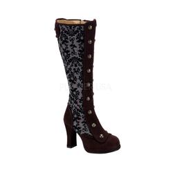 Gothic Stiefel CRYPTO-301 : Braun