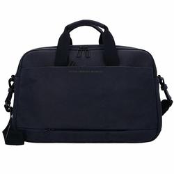 AEP Workbag Aktentasche Leder 45 cm Laptopfach simple black