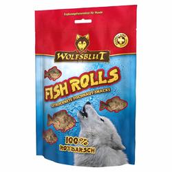 (4,99 EUR/100g) Wolfsblut Fish Rolls Rotbarsch 100 g