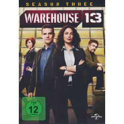 Warehouse 13 - Season 3  [3 DVDs]