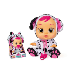 IMC TOYS Babypuppe Cry Babies LEA Funktionspuppe schwarz