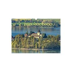 Insel Reichenau - Größte Insel im Bodensee (Wandkalender 2021 DIN A3 quer)