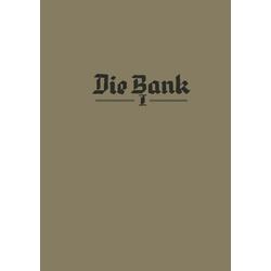 Die Bank als Buch von Karl Theisinger Karl Theisinger