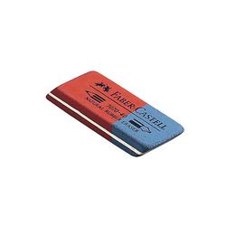 Faber Castell Radiergummi 50 x 18 x 8mm 7070 40 rot/blau