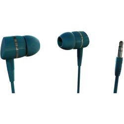 Vivanco SOLIDSOUND PETROL HiFi In Ear Kopfhörer In Ear Petrol