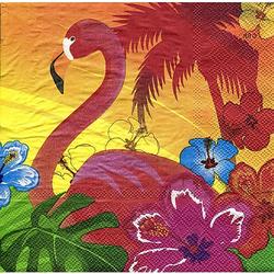 """Papierservietten """"Hawaii"""", 33 x 33 cm, 12 Stück"""