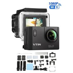 dynamic24 Action Cam (HD, WLAN (Wi-Fi), Action Sport Kamera WIFI Full HD 1080P 2