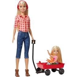 Mattel® Spielfigur Barbie Farm Barbie + Chelsea Puppen