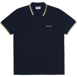 Carhartt Wip - S/S Script Embroider - Poloshirts - Größe: L