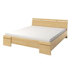 Łóżko Lopar z drewna sosnowego