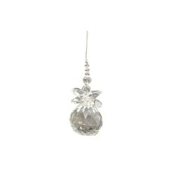 Suncatcher Engel crystal 5 cm mit Kristallkugel