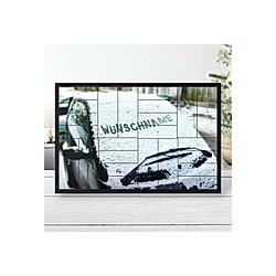 Personalisierter Adventskalender 24 Schachteln (Typ: Auto im Schnee) - Kalender