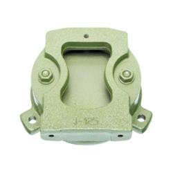 Drehuntersatz für 100 mm Parallel-Schraubstock, Farbe grün