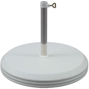 Vispronet Sonnenschirmständer Betonfuß ø 45 cm/20 kg für Rohr ø 25 mm Sonnenschirme ✓ Sonnenschirmhalterung