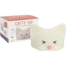 CATTY CAT NACHTLICHT USB & RGB 85855ML Nachtlicht