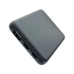 AccuCell Powerbank Li-Polymer mit 5000mAh, LED-Indikator, M Powerbank