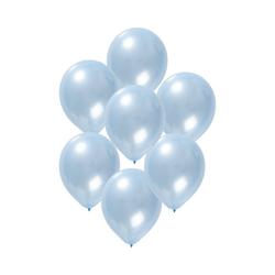 Folat Luftballon Luftballons metallic rot 30 cm, 50 Stück blau