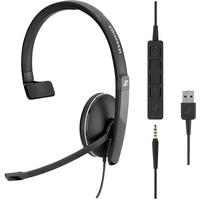 Sennheiser SC 135 USB Kopfhörer Kopfband Schwarz